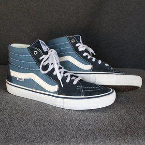 Vans Sk8-Hi Pro Navy Blue Two Tone Ultracush